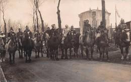¤¤  -   BLAMONT   -   Carte-Photo  -  Un Jour De Carnaval , Fête , Défilé  -  Cavaliers , Chevaux   -  ¤¤ - Blamont
