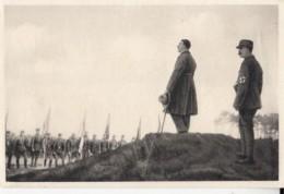 HISTORY, WW2, ADOLF HITLER INSPECTING THE TROOPS, GERMANY AWAKENS ALBUM NR 8, IMAGE NR 12 - Histoire