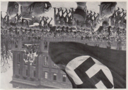 HISTORY, WW2, ADOLF HITLER, MILITARY PARADE, GERMANY AWAKENS ALBUM 8, GROUP 29, IMAGE 84 - Histoire