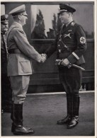 HISTORY, WW2, ADOLF HITLER WITH MINISTER RICHARD DARRE, ALBUM 15, GROUP 65, IMAGE 29 - Histoire