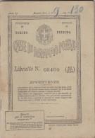 10494-LIBRETTO CASSE DI RISPARMIO POSTALI - UFFICIO POSTALE DI POIRINO(TORINO) - Storia Postale