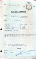 Factuur Facture - Bon De Commande - Vroom & Dreesman Amsterdam 1962 - Pays-Bas