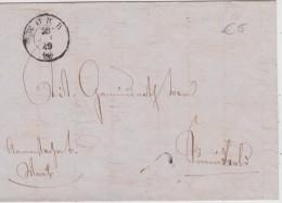 SUISSE  1849 LETTRE DE WORB - Schweiz
