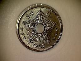 Congo - Belge 10 Centimes 1927 - Congo (Belgian) & Ruanda-Urundi
