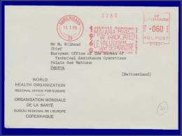 Danemark, Paludisme, Journée Mondiale 1960 Contre Le Paludisme - Insects