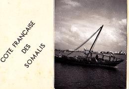 COTE FRANCAISE DES SOMALIS / CARTE DE VOEU AVEC PHOTO 12X8 - Somalie