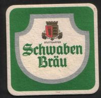 BIERDECKEL / BEER MAT / SOUS-BOCK : Schwaben Bräu - Sous-bocks