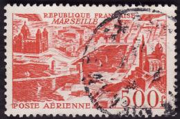 FRANCE  1949  -  PA 27  -  Marseille -  Oblitéré  -  Cote  7e - Aéreo