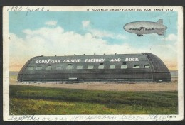 Goodyear Airship Factory And Dock - Dirigibili