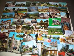 Un Lot De 100 Cartes Postales Du Département Du BAS RHIN (sauf Strasbourg) - France