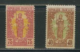 CONGO N° 36 & 38 * - French Congo (1891-1960)