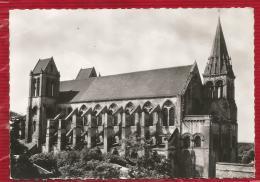 SAINT LEU D'ESSERENT  - Eglise St-Nicolas Vue Du Prieuré (XII-XIIIè S)- Dépt 60 - CPSM - Photo Véritable - France