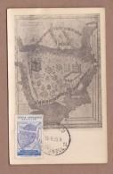 AC- TURKEY MAXIMUM CARDS -  THE 10th INTERNATIONAL CONGRESS OF BYZANTINE ISTANBUL 15 SEPTEMBER 1955 - 1921-... Republic