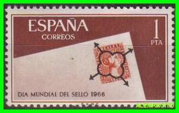 ESPAÑA -   AÑO 1966  DIA MUNDIAL DEL SELLO - 1951-60 Unused Stamps