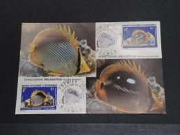 NOUVELLE CALEDONIE - Aquarium De Nouméa - Juin 1973 - A Voir - P18607 - Cartes-maximum
