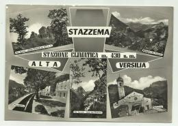 STAZZEMA 5 VEDUTE VIAGGIATA FG - Lucca