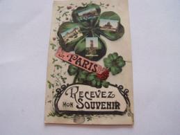 SOUVENIRS DE PARIS 1923 - Gruss Aus.../ Grüsse Aus...