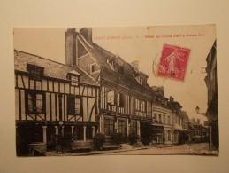 Carte Postale - GRAND ANDELY (27) - Hôtel Du Grand Cerf Et Grande Rue (1390/1000) - France