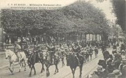 ROUEN - Millénaire Normand,grand Cortège Historique,groupe D'archers. - Rouen