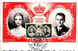 MONACO - 19 Avril 1956 - Monaco
