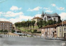 ROMBAS  -  Vue Sur L' Eglise St Remy - France