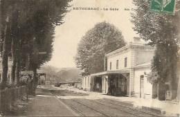 43 - RETOURNAC - La Gare - Ed. Civet - Retournac