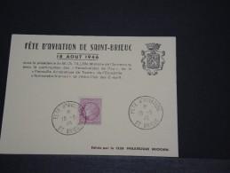 FRANCE - Carte Postale Fête D'aviation De St Brieuc - Août 1946 - A Voir - P18626 - Poste Aérienne