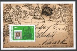 Cayman Islands. 1979 Death Centenary Of Sir Rowland Hill. 50c MH Miniature Sheet. SG MS 492 - Cayman Islands