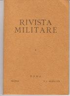 RA#61#01 RIVISTA MILITARE N.3 Marzo 1973/OPERAZIONI SEELOWE E ADLERANGRIFF 1940/EVEREST NEPAL/SPARTA E ATENE - Revues & Journaux