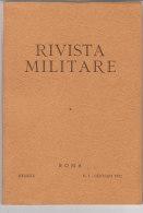 RA#61#03 RIVISTA MILITARE N.1 Gen 1972/GUERRA IN MONTAGNA/CORAZZATI/GUERRA ESTREMO ORIENTE 1945/GARIBALDI - Revues & Journaux