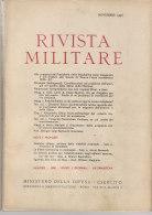 RA#61#05 RIVISTA MILITARE Nov 1956/FIAT 600 MULTIPLA/MOTO GUZZI CARDELLINO/ARTIGLIERIA/AVIAZIONE COREANA/GIORDANIA - Revues & Journaux