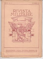 RA#61#07 RIVISTA MILITARE Nov 1953/AUTOBUS OM PIRELLI/MOTO GUZZI ZIGOLO/VARCHI NEI CAMPII MINATI/ELICOTTERI - Revues & Journaux