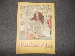 10509-CALENDARIO DEL 1949 DELLA CASA EDITRICE PARAVIA - Calendari