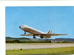 Cp - AVION - Alitalia - Caravelle - 1946-....: Moderne