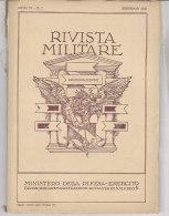 RA#61#13 RIVISTA MILITARE Febb 1953/GOMME PIRELLI/SERVIZIO SANITARIO DI UN'ARMATA IN GUERRA/CARRO ARMATO M.47 - Revues & Journaux