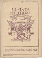 RA#61#18 RIVISTA MILITARE Lug 1952/OLIVETTI LETTERA 22/FIAT CAMPAGNOLA/CONQUISTA DELLA SICILIA 1943/CLAUSEWITZ - Revues & Journaux