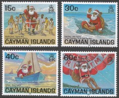 Cayman Islands. 2001 Christmas. MH Complete Set. SG 970-973 - Cayman Islands