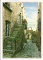 Civita Di Bagnoregio (Vicolo) . Le Plus Beau Village D'Italie, Carte Postale Neuve Non Circulée - Viterbo