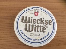 """Sous-bock """"Wieckse Witte - HET WITBIER UIT MAASTRICHT"""" Belgique - Sous-bocks"""