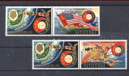 Aitutaki, 1975,  Space,  Apollo, Sojus,