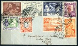 Kenya Uganda Tanganyika, 75 Th. Anniv UPU, Real Mailed FDC 1949 - Kenya, Uganda & Tanganyika