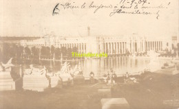 CARTE DE PHOTO REAL PHOTO POSTCARD WORLD FAIR SAINT LOUIS 1904 - Expositions