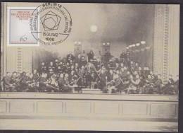 Berlin 1982 Berliner Philharmonisches Orchester 1v Maxicard (30035) - [5] Berlijn