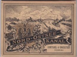 Der Nord-Ostsee-Kanal. In 16 Photographien Nach Den Im Auftrag Der Kaiserlichen Kanal-Commission In Kiel Ausgeführten Au - Technical