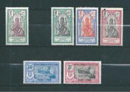France Colonie Inde Timbres De 1922   N°49 A 55 Neufs *  Manque Le N°50 - Inde (1892-1954)