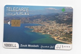 Zouk Mosbeh 2010 Used Phonecard Lebanon , Liban Telecarte  Libanon