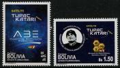Bolivia (2013)  - Set -  /  Space - Satellite Tupac Katari - Communication - Ruimtevaart
