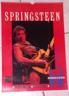 Bruce Springsteen Calendar 1987 - Grand Format : 1981-90