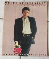 Music / Bruce Springsteen - Tunnel Of Love Express Tour - Official Program - Livres, BD, Revues