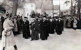 Beisetzung Der Kaiserin Auguste Viktoria 1921 - Oberhofprediger Dr.Dryander Im Trauerzug, Orig.Fotokarte Von Photothek - Beerdigungen